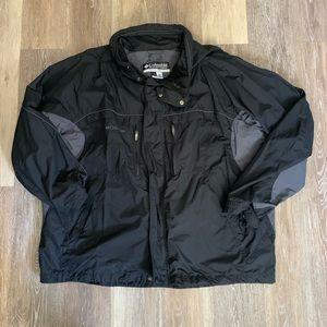 Columbia Men's Black Jacket SzXXL